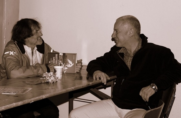 Treffen mit Hans Kammerlander