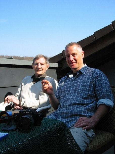 Uli Auffermann und Anderl Heckmair verband eine enge Freundschaft